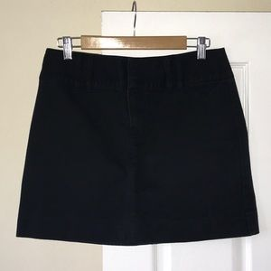 GAP KHAKI BLACK SKIRT